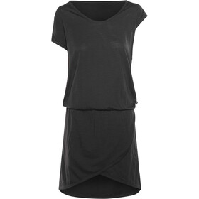 super.natural Comfort Dress Women Jet Black
